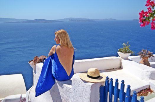 I Left my Heart in Santorini