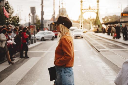 Baker Boy Cap in Budapest
